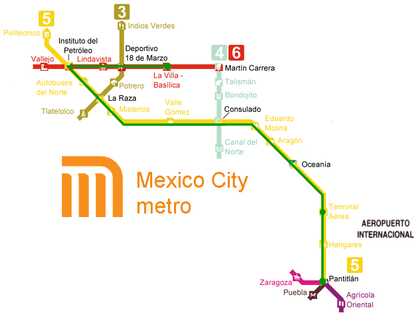 Mexico City Subway Map Wheres The Airport.Our Lady Of Guadalupe In Mexico City Mex